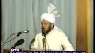 Friday Sermon 22 September 1989