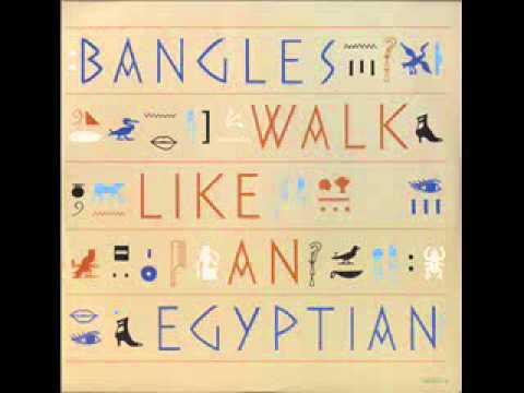 Bangles - Walk like an Egyptian (HQ Audio)
