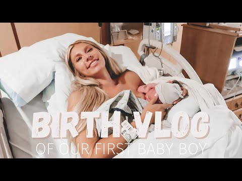 BIRTH VLOG | Induced Labor And Delivery Of Our First Baby