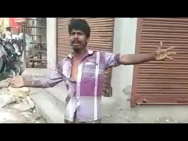 Very funy man singing a song (tu mujhe kabuool mai tujhe kabool)