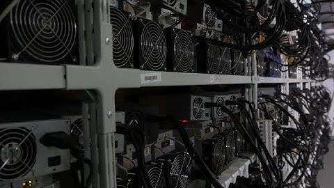 Bitcoins, litecoins, une ferme de cryptomonnaies ouvre en Russie