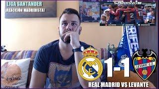 REAL MADRID VS LEVANTE 1-1   REACCION   LIGA SANTANDER   HIGHLIGHTS