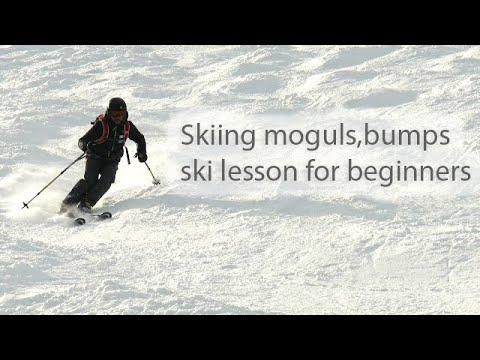 How to ski moguls bumps basics for beginners 2018