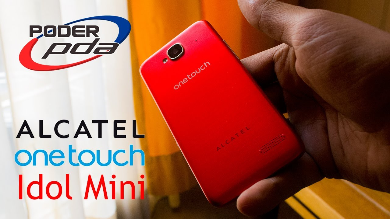 b903a59e310 Alcatel One Touch Idol Mini - Análisis - YouTube