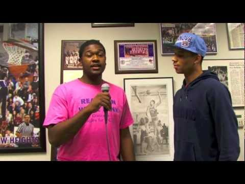 DCSportsfan: Five good minutes with Villanova recruits Kris Jenkins and Josh Hart