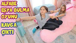 ALFABE EŞYA BULMA OYUNU   KIZLAR ARASINDA KAVGA ÇIKTI   Alphabet Challenge - Eğlenceli Çocuk Videosu