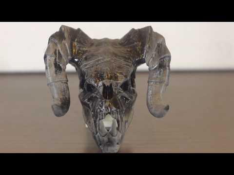 3D-печать: Череп демона