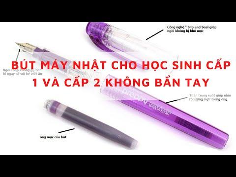 Bút Mực Cho Học Sinh Cấp 1 Bút Máy Nhật Cho Học Sinh Luyện Viết Chữ Đẹp của Nhật