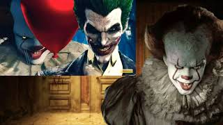 Pennywise:  Pennywise (IT) vs Joker [#3 Video Reaction]