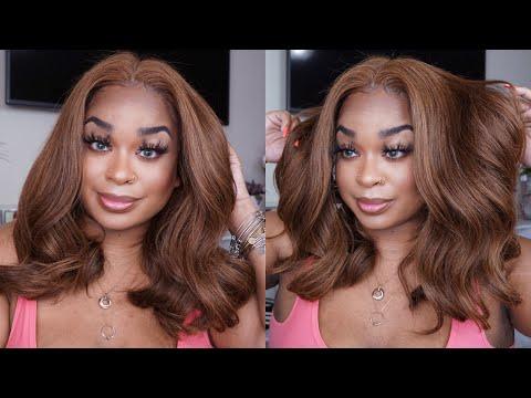 DorHair  Light Brown Bodywave Wig  GRWM Hair Edition