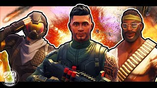 HOW SQUAD LEADER LED THE NOOBS TO VICTORY - A Fortnite Short Film