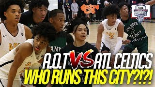 A.O.T vs. ATL Celtics | Matchup the WHOLE CITY wanted GOES DOWN at the Tip Off Classic