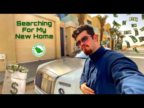 Looking For My Dream House In Saudi Arabia 🇸🇦 | البحث عن منزل في الرياض