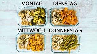 In 30 Minuten ein Essen für die ganze Woche machen!