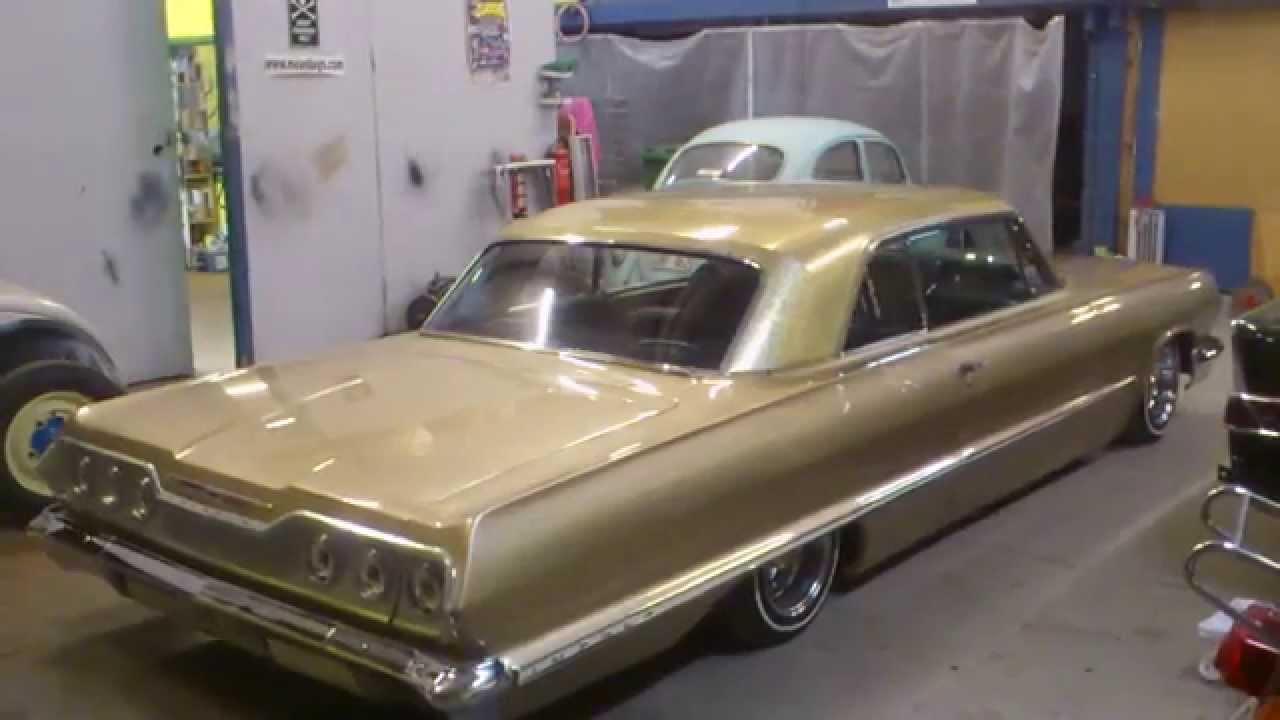 1963 Chevy Impala SS convertible Black on Black  YouTube