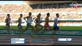 Yuriy Borzakovskiy 1:48.61 - 800m European Athletics Championships Helsinki 2012