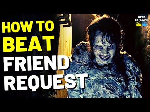 """How to Beat the COMPUTER WITCH in """"FRIEND REQUEST"""" (2017)"""