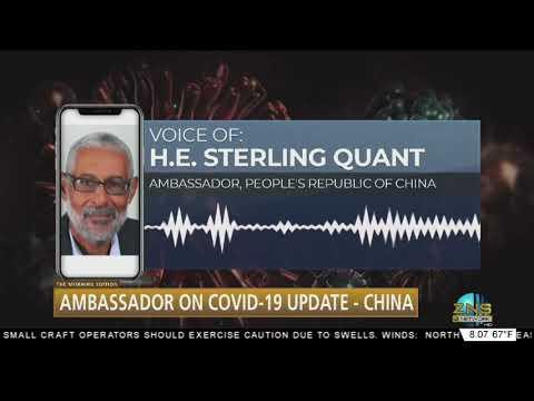 Ambassador On Covid-19 Update China