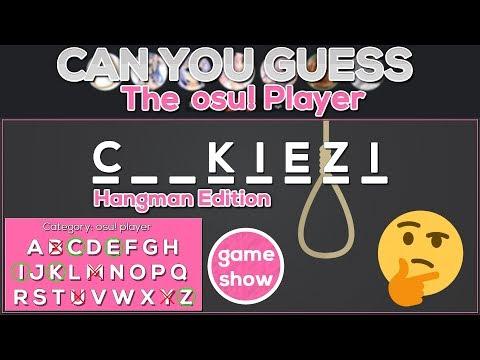 [Osu! Gameshow] Can you guess the osu! player? ft. Kachulu & Harley Rizumu