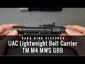 UAC Lightweight Bolt Carrier TM M4 MWS Guide