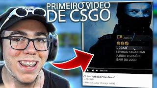 PRIMEIRO VÍDEO DE CS:GO DO CANAL [ React ]