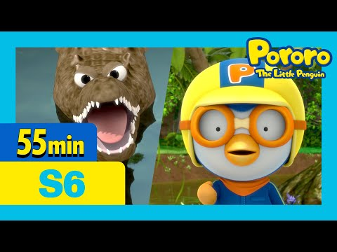 The Adventures on Summer Island and more (55mins) | Pororo the little penguin | Season 6