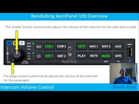 BendixKing Overview: AeroPanel 100