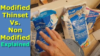 Modified Thinset vs Unmodified Thinset Explained, How to Choose Best Mortar for Tiles