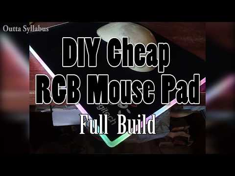 How to Make RGB Mouse Pad Cheapest DIY | Full Build | Outta Syllabus