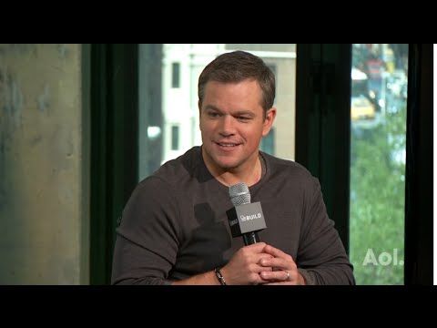 "Matt Damon On ""Jason Bourne"" 