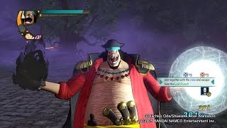 One Piece Pirate Warriors 3 Blackbeard Gura x Yami Level 100 Gameplay