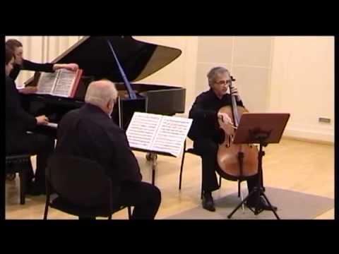 J.N Hummel piano trio G dur, 2nd Mov., Martin Levický-piano,Ewald Danel violin,Ján Slávik-cello