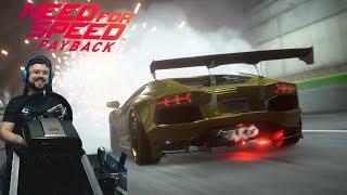 Эпический угон золотой Ламбо и Гелика Need for Speed Payback