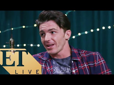 ET LIVE: Drake Bell Regrets Twitter Feud with Josh Peck, PLUS Musical Performance