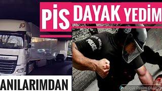 POLİSTEN FENA DAYAK YEDİM / ŞEHİR İÇİ SEFERİ