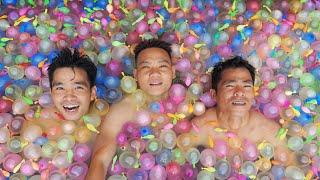 Bể Bơi Bóng Nước | Swimming Pool Water Balloons | PHD Troll