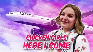 Flying to LA for Chicken Girls season 6 | The LeRoys