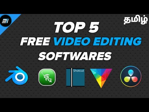 Top 5 Best Free Video Editing Software For Windows Mac And Linux   Sam Tech Tamil