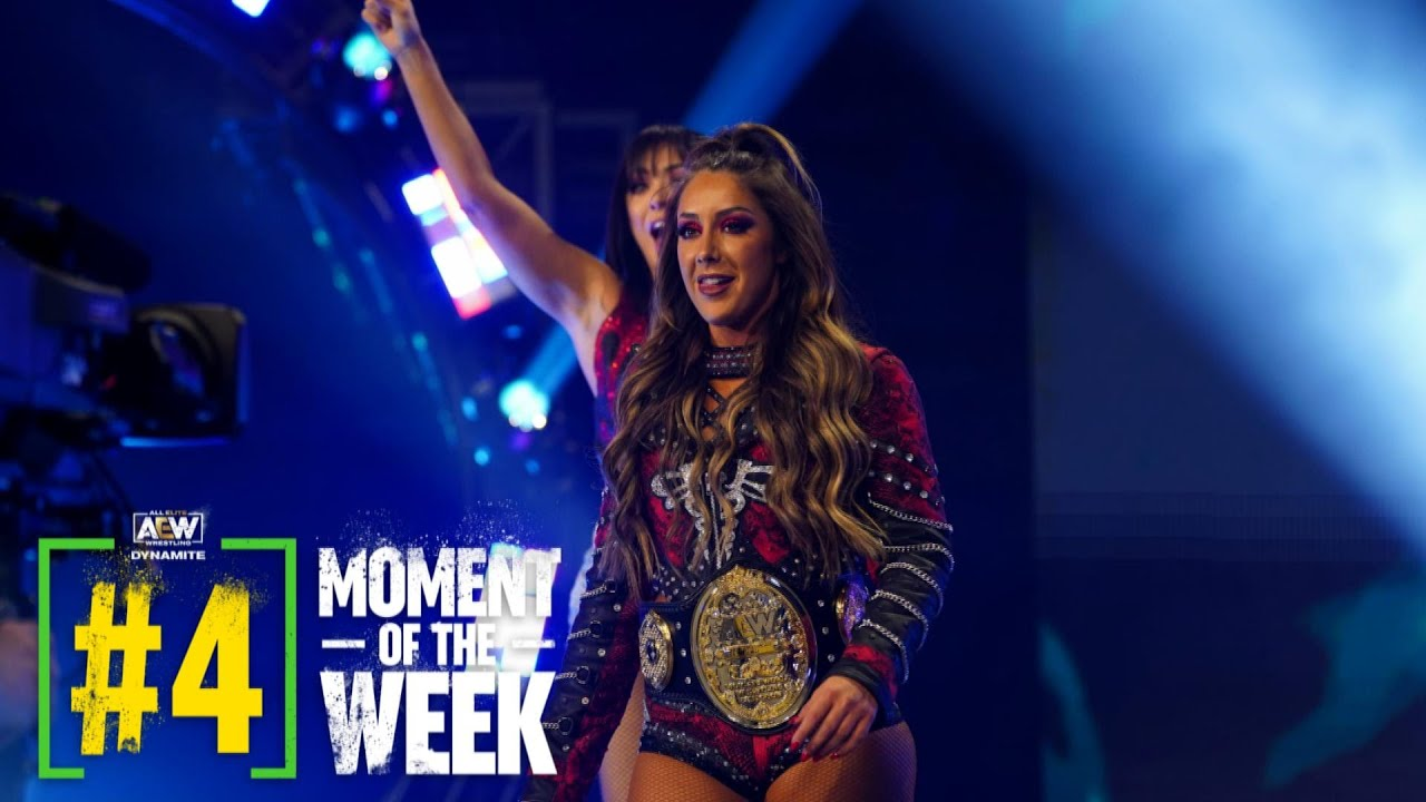 Download Was Dr. Britt Baker able to Overcome Nyla Rose? | AEW Dynamite Fyter Fest Night 2, 7/21/21