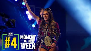Was Dr. Britt Baker able to Overcome Nyla Rose?   AEW Dynamite Fyter Fest Night 2, 7/21/21