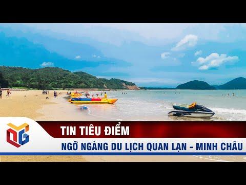 Ngỡ ngàng du lịch Quan Lạn - Minh Châu   QTV