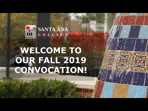 Santa Ana College's Fall 2019 Convocation