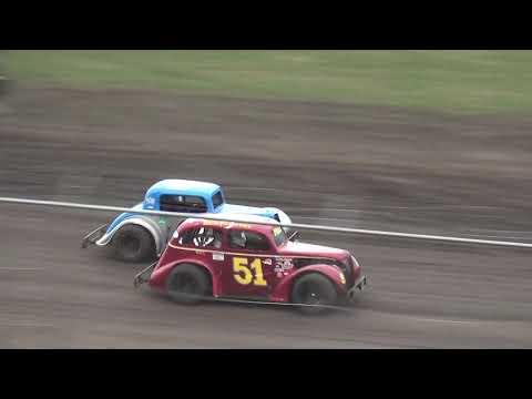 INEX Legends Heat 1 Benton County Speedway 7/21/19