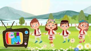 Drag mi-e jocul romanesc - Clopotelul Magic - cantece pentru copii