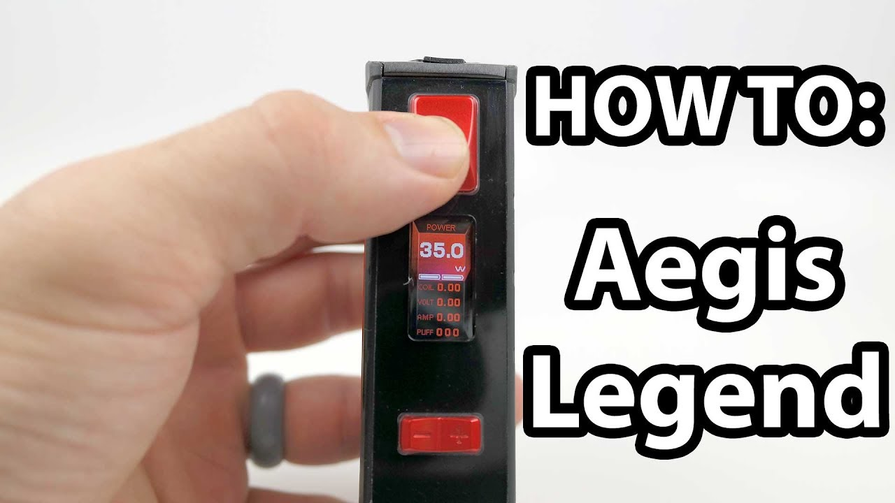 How To: Set Up The Geek Vape Aegis Legend | Vaporleaf