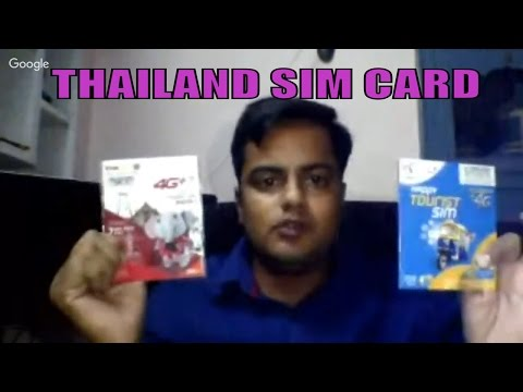 Thailand Tour ; All About Sim Card