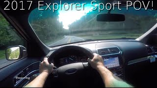 2017 Ford Explorer Sport POV !  What's it like to drive this 365HP Twin Turbo SUV?