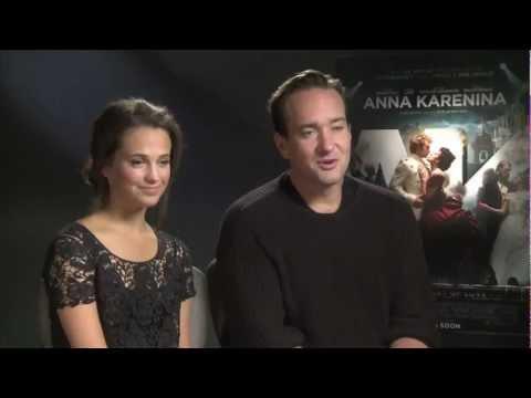 Alicia Vikander and Matthew Macfadyen Interview -- Anna Karenina | Empire Magazine