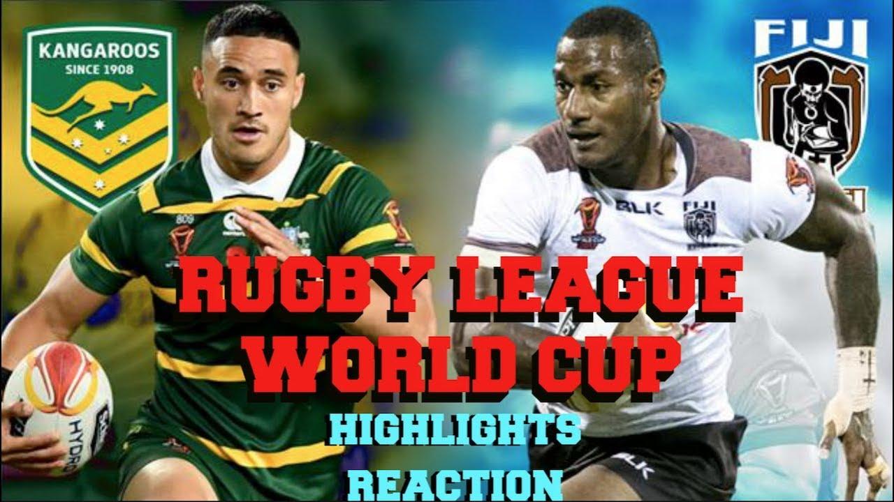 f683ef86b3e AUSTRALIA v FIJI   Highlights   Rugby League World Cup 2017   Reaction