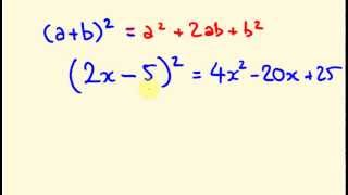 Algebra - Completing tнe Square - Solving Quadratic Equations